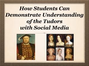 The Tudors and Social Media