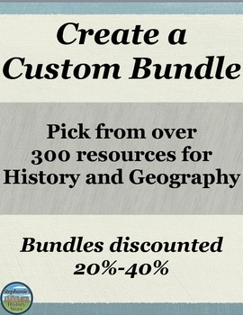 create your own bundle!