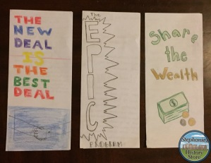 student made pamphlets