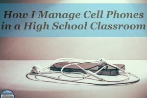 managing students and their phones in class