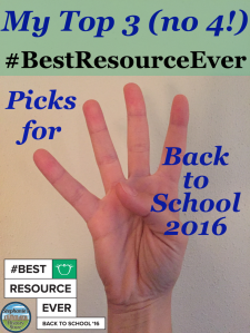 #bestresourceever back to school 2016