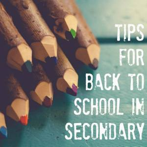 back to school tips for secondary teachers