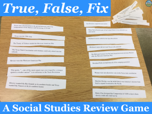 social studies review games