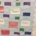bulletin board reflection