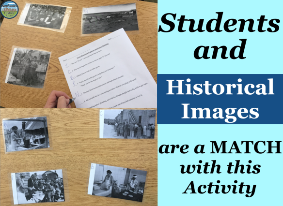 matching historical images to captions