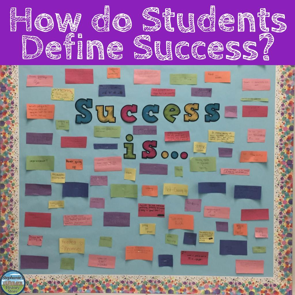 how students define success